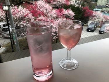 オリジナル花桃カクテル